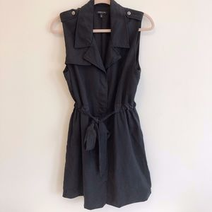Kenneth Cole Black Lined Sleeveless Dress